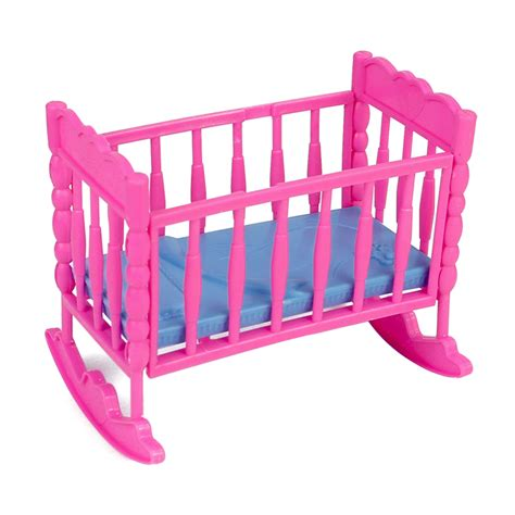 plastic crib aliexpress buy beds for dolls crib plastic diy assembly dollhouse miniature bed