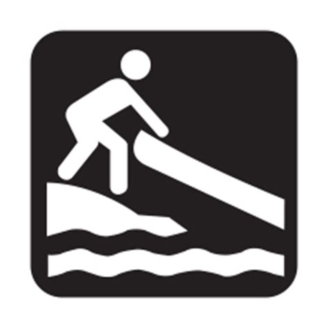 boat launch icon bass lake shoreline ontario s lake country paddling