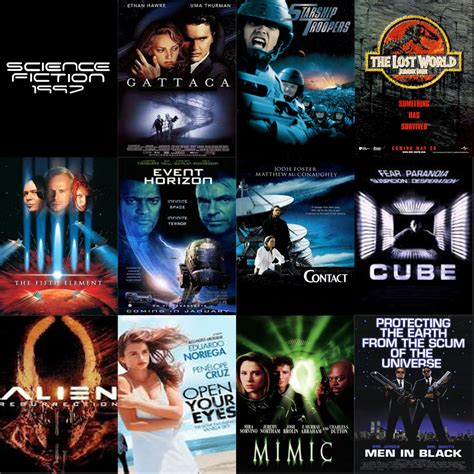 themes in science fiction films was 1997 the greatest year for science fiction in film