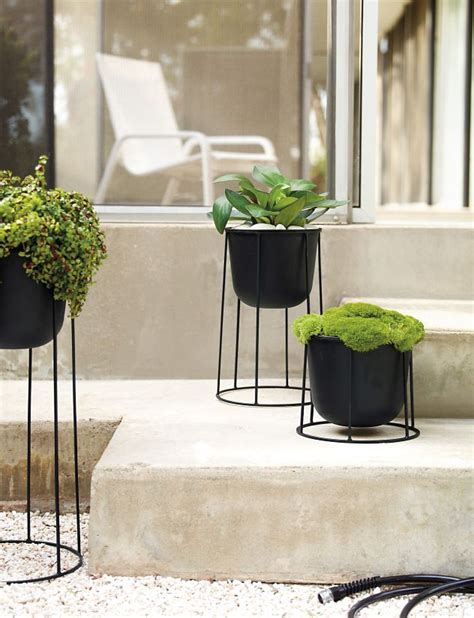 Wire Garden Planters by Wire Planter Design Within Reach