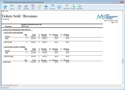 ticket sles template sales report sle