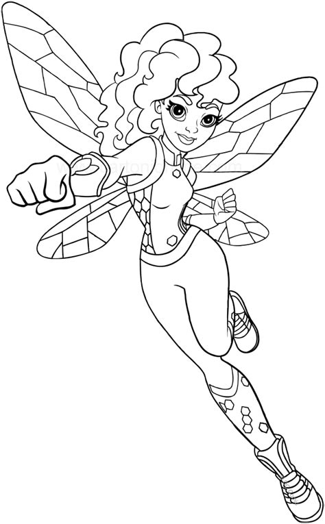 coloring page girl superhero superhero girl coloring pages www pixshark com images