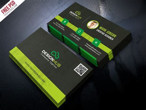 8x5 card photoshop template freebie classic business card template free psd by psd