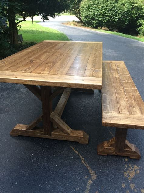 how to a farm table custom built farmhouse tables for sale midlothian va