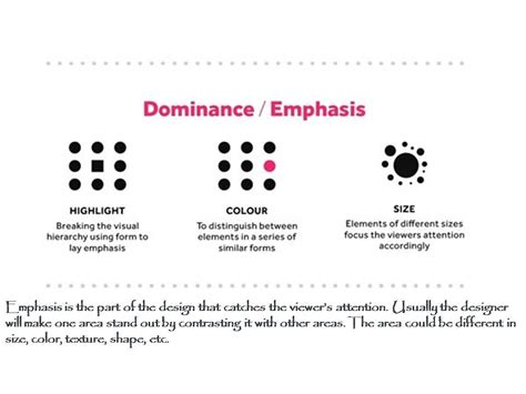 design definition of emphasis principles of design emphasis or dominance designdecoding