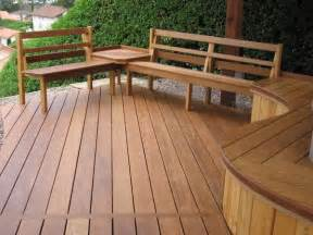 deck seating benches for decks