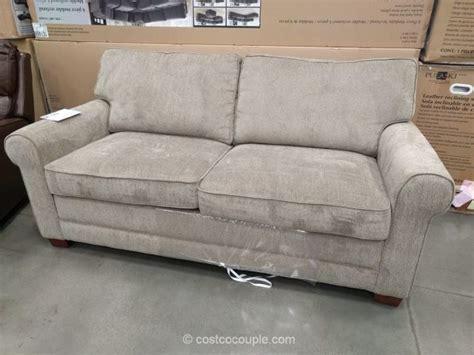 sofa bed at costco synergy home sleeper sofa