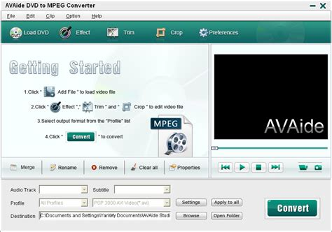 converter to mpeg avaide dvd to mpeg converter convert videos from dvd to mpeg