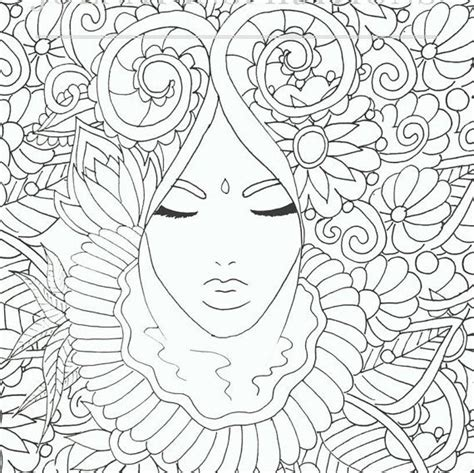 coloring pages for adults faces meer dan 1000 afbeeldingen coloring pages op