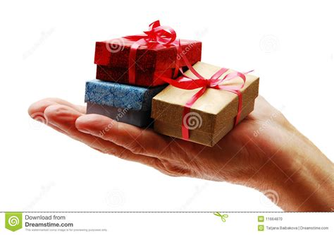 christmas gift giving stock photo image 11664870