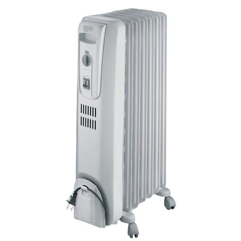 outdoor space heater home depot delonghi safeheat 1500 watt basic filled radiant