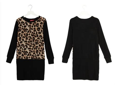 Dress Import Leopard baju dress motif leopard terbaru model terbaru jual