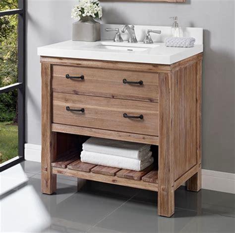 Open Shelf Bathroom Vanities by Napa 36 Quot Open Shelf Vanity Sonoma Sand Fairmont