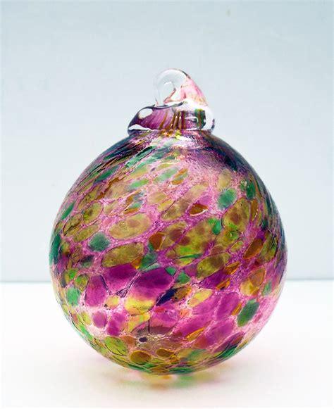 blown glass blown glass baubles