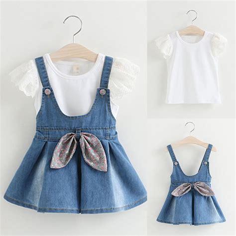 toddler baby clothes t shirt tops denim