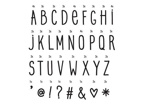 Accessoires Lightbox Alphabet 233 Criture Manuscrite Noir