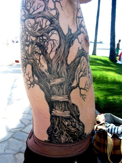 tree tattoos for guys slip with snak trees tree trimmers a tree