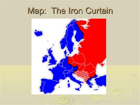 the iron curtain in europe refers to fremont junior high school 187 1 cold war basics