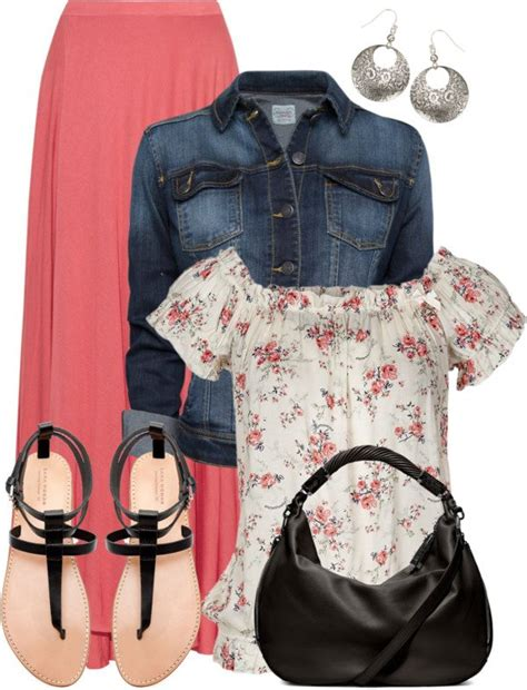 cute  beautiful everyday outfit polyvore