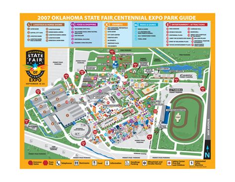 state fair texas map oklahoma state fair park map mappery