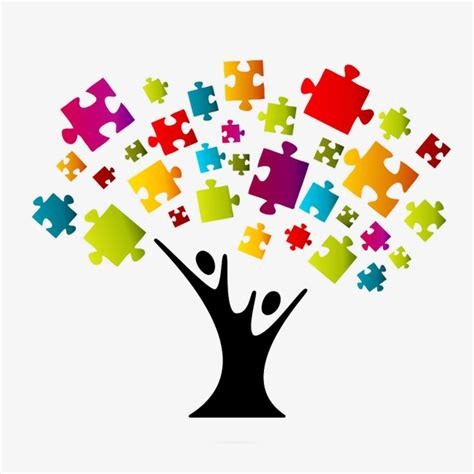 Images Of Decoration Pieces by Ppt Decoration Statistics Puzzle Tree Jigsaw Png And