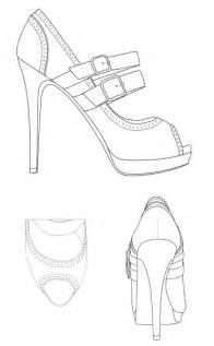 Fashion designer drawing template printable fashion figure