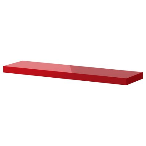 Ikea Regal Rot by Floating Shelves In Bright Colors For The Living Room