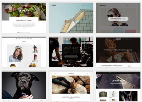 squarespace templates for photographers squarespace templates
