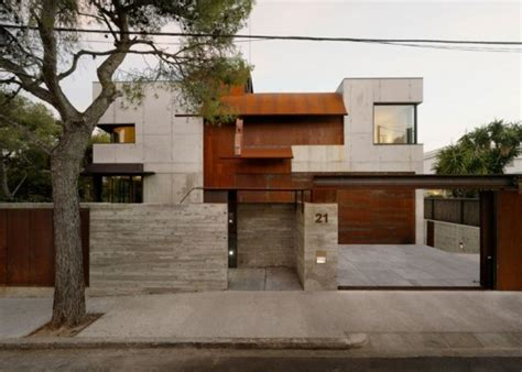 exterior home materials kundig s studio sitges is a stunning minimalist home