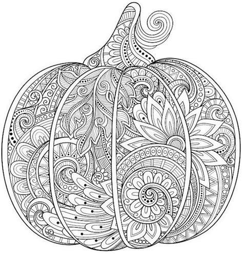 intricate pumpkin coloring pages 2499 best coloring pages images on pinterest coloring