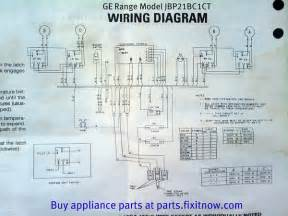 general electric range wiring diagram general