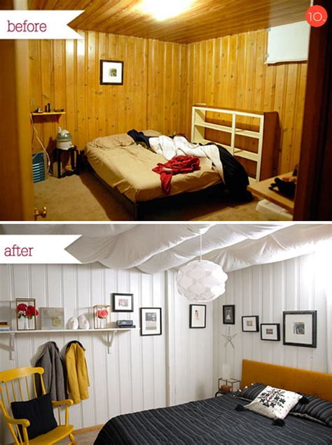 cheap basement makeovers roundup 10 inspiring budget friendly bedroom makeovers 187 curbly diy design community