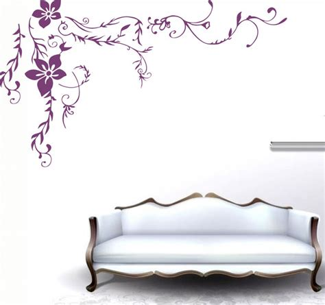 Flower Wall Decals For Nursery Wall Decal Nursery Wall Decal Flower Wall Decor Wall Sticker