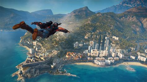 With Just Cause test just cause 3 sur ps4