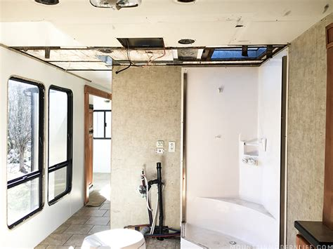 rv bathroom skylight avoid this costly rv mistake mountainmodernlife com