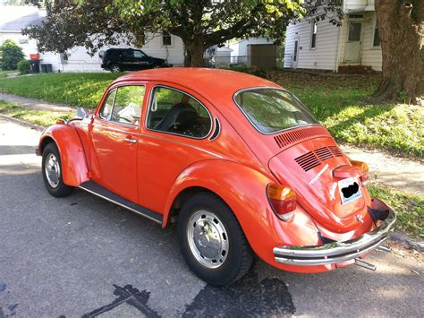 orange volkswagen orange volkswagen vw beetle vintage