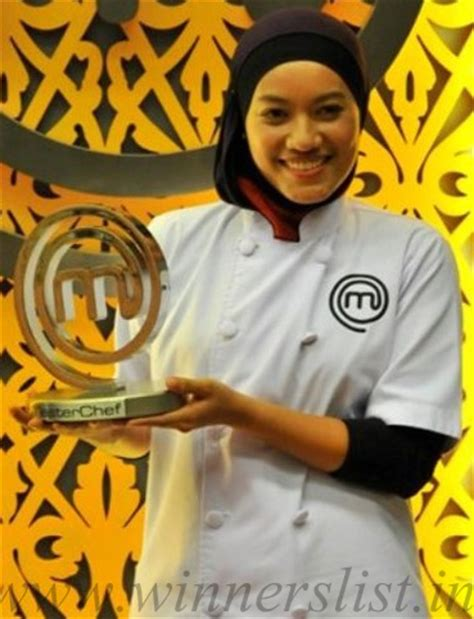 malaysia winner masterchef malaysia winners list of all seasons series 1