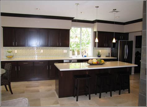 espresso kitchen cabinets with backsplash tag archived of espresso kitchen cabinets with backsplash