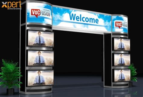 booth design unit tradeshow display custom xpert convention exhibit
