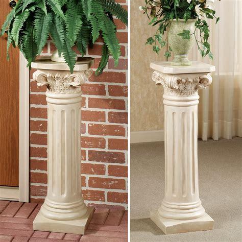 pedestal in column column pedestal plant stand atcsagacity