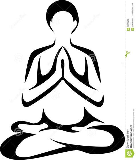 baju yogs blak white stock vector image of care fitness white