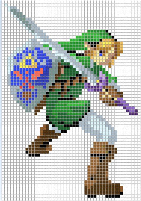 pattern link zelda on pinterest zelda cross stitch patterns and the
