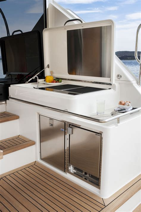 ski boat grill bbq for sailing boats expert event