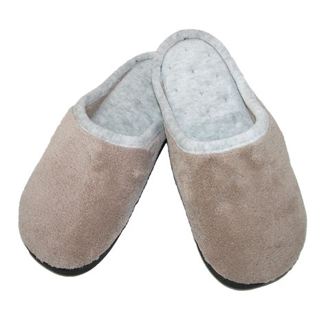 s slippers womens microterry wide width clog slippers by totes