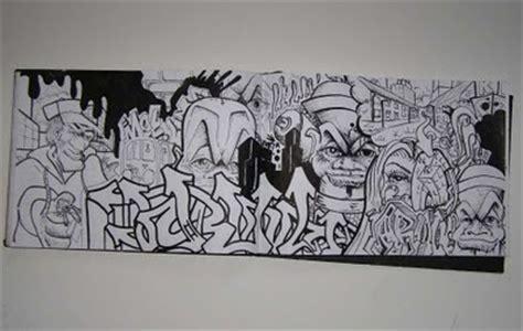 graffiti sketch binber block black white  graffiti art