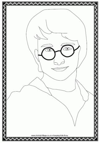 harry potter jumbo coloring book harry potter colouring pages