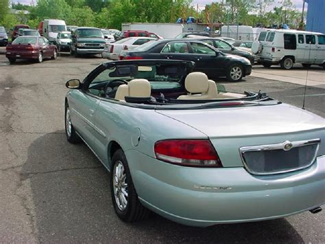 2001 Chrysler Sebring Convertible For Sale by 2001 Chrysler Sebring Convertible For Sale 235 Used Cars