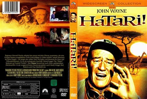 Cover A by Hatari Dvd Covers 1962 R2 German