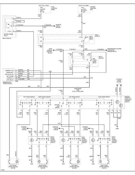 ford explorer power window diagram wiring diagram with