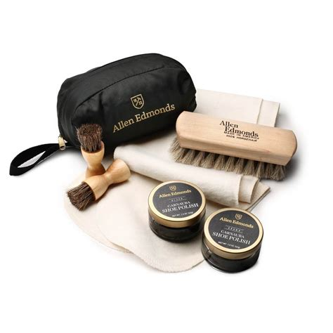 Dress Shoe Cleaning Kit by Allen Edmonds Travel Shoe Care Kit